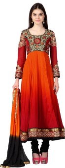 Urjita Creations Embroidered Semi-Stitched Anarkali Suits