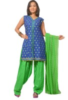Azva Readymade Polka Dots Salwar Suit