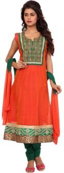 Zari Embroidered 1 Ethnic Set Of Salwar Chudidar And Duppata