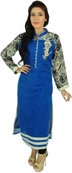 Aarshi Embroidered, Printed Kurti & Salwar Stitched