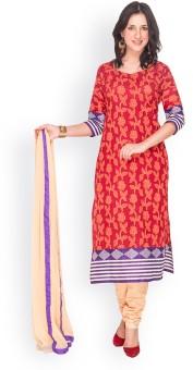 EthnicQueen Floral Print Churidar Suit - SWDE6KWATHVANBWD