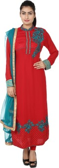 Saheli Self Design Churidar, Kurta & Dupatta Set