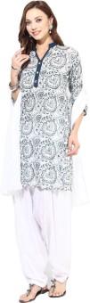 Jaipur Kurti Floral Print Salwar Kurta Duptta - SWDE8JJZFYHZG2KZ