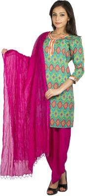 Get best deal for Jaipur Kurti Printed, Solid Salwar Kurta Duptta at Compare Hatke