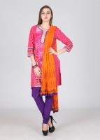 Rain & Rainbow Printed Churidar Suits