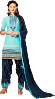 The Four Hundred Embroidered Kurti & Salwar - SWDEEJGUVKDYPPQX