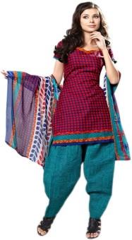 Lace House Printed Salwar Suit Dupatta Material