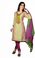 Art Printed Churidar Suit