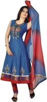 Art Printed Anarkali Suit