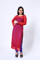 Ethnic Route Printed Churidar Suit - SWDDXFC4HGFCEEGK