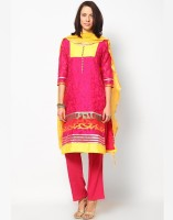Magnetic Designs Self Design Afghani Suit