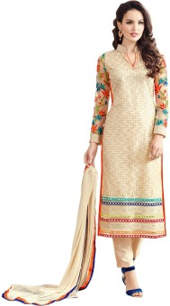 Elevate Women Embroidered Kurta & Churidar