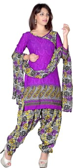 Rudra Fashion Floral Print Kurta & Churidar