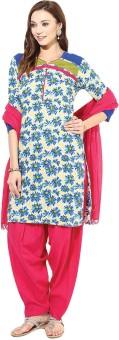 Jaipur Kurti Floral Print Salwar Kurta Duptta - SWDE9APZYHHDKVKF
