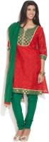 Anahi Printed Churidar Suit