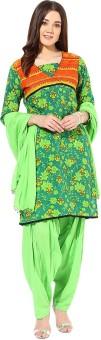 Jaipur Kurti Floral Print Salwar Kurta Duptta - SWDE8JJNWEGM2SKZ