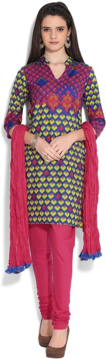 Rain & Rainbow Printed Churidar Suits - SWDEFGYUDTRNJRDM