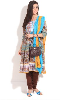 Rain & Rainbow Printed Churidar Suits