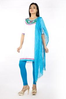 Rama Printed Kurta & Churidar Stitched