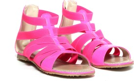 Craze Shop Pink Girls Sandals