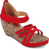 Bell One Girls Red Sandals Red