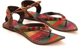 Myra Pair Of Multicolored Women Flats