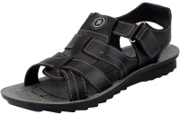 Bata Men Black Sandals Black