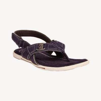 Bacca Bucci Globetrotter Blue Men's Sandal Leather Sandals