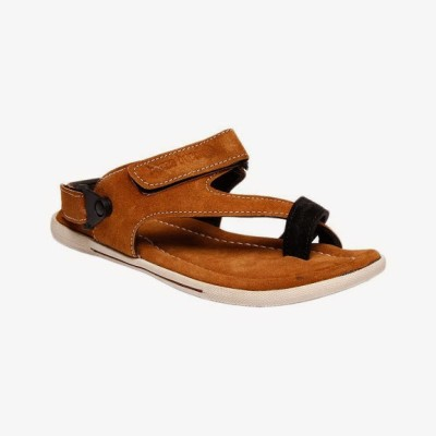 Bacca Bucci Climbers Tan Men's Sandals Leather Sandals