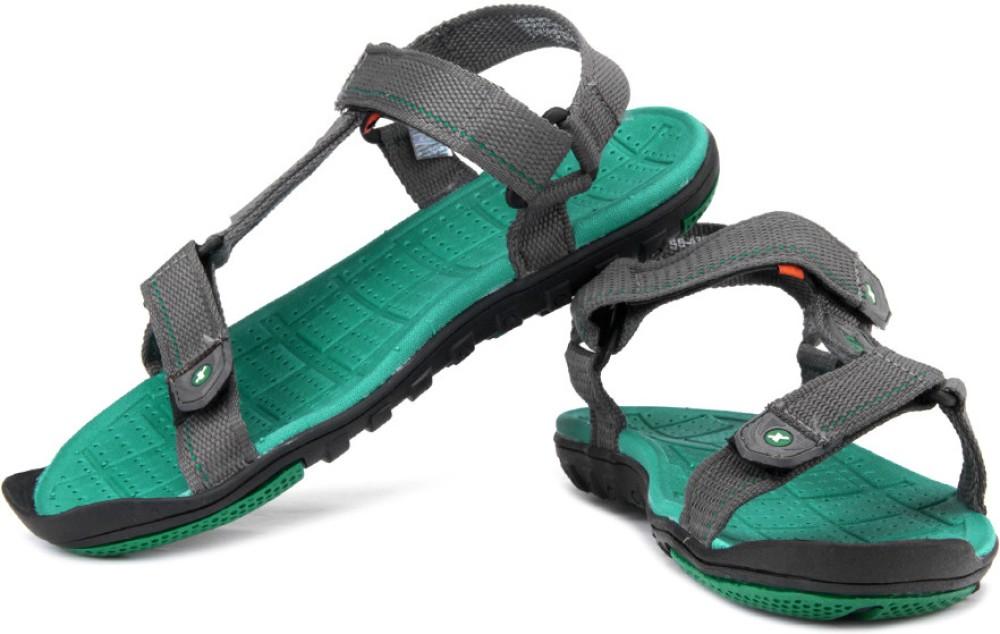 Sparx Men Grey Green Sports Sandals Grey Green