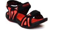 Richer RR-602-Blk-Red Men Black, Red Sandals Black, Red