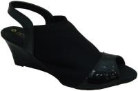 Senso Vegetarian Shoes Ladies Beige Formal Peep Toes Wedges