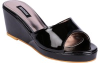 Karizma Shoes Women'S Designer Black Wedges
