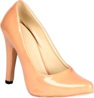 Soft & Sleek Classic Beige Patent Heels
