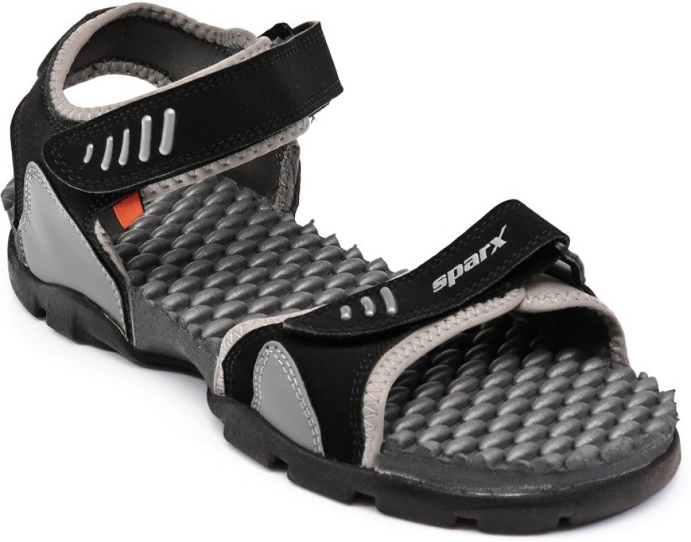 Sparx Men Black Grey Sandals Black Grey SNDEGYS8Q5XGVXWK