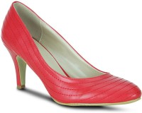 Get Glamr Designer Pumps Women Red Heels Red