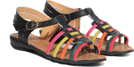 Craze Shop Multi Colour Girls Flats