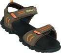 Zovi Brown And Orange Sport Sandals