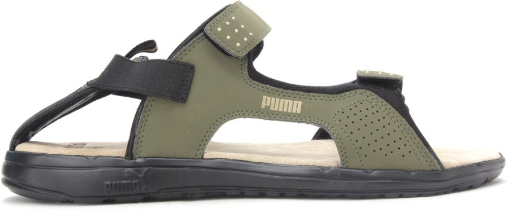Puma Endeavour DP Men Green Sports Sandals Green