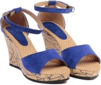 TEN Beautiful Blue Wedges