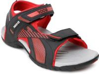Welcome Men Black, Red Sandals Black, Red