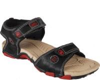 Shox Men Black, Red Sandals Black, Red
