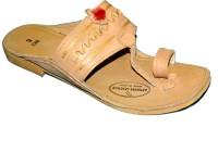Kolapuri Center Chappal Jari Leather Sandals Leather Sandals