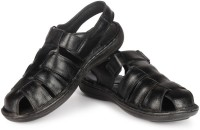 Leather King Sandals England Black Leather Sandals