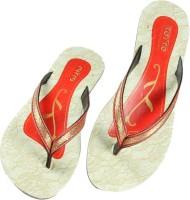Toyto Women Red Sandals Red