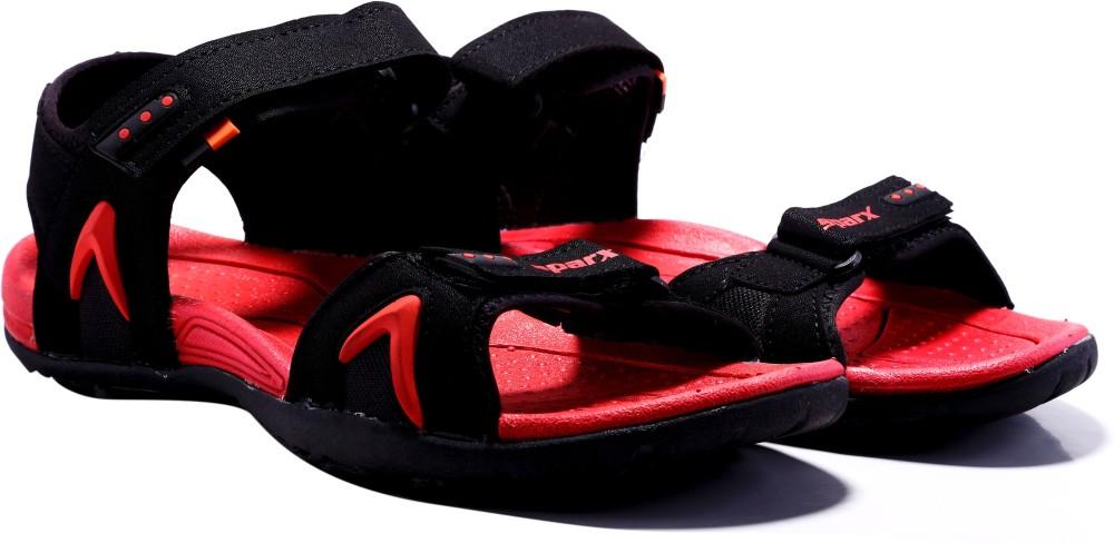 Sparx Men Black Red Sandals Black Red SNDEJQBHJXXZF6PF