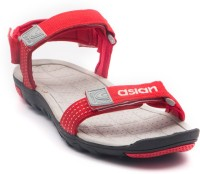 ASIAN Men Red, Red Sandals Red, Red