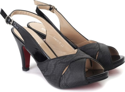 Solovoga Solovoga Kelsol-1 Heels (Black)