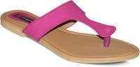 Sapatos Women Beige, Pink Flats Beige, Pink