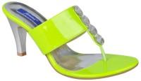 Femme FM267 Green Heels